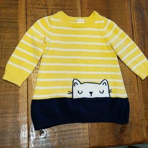 Gymboree Kitty Sweater Dress
